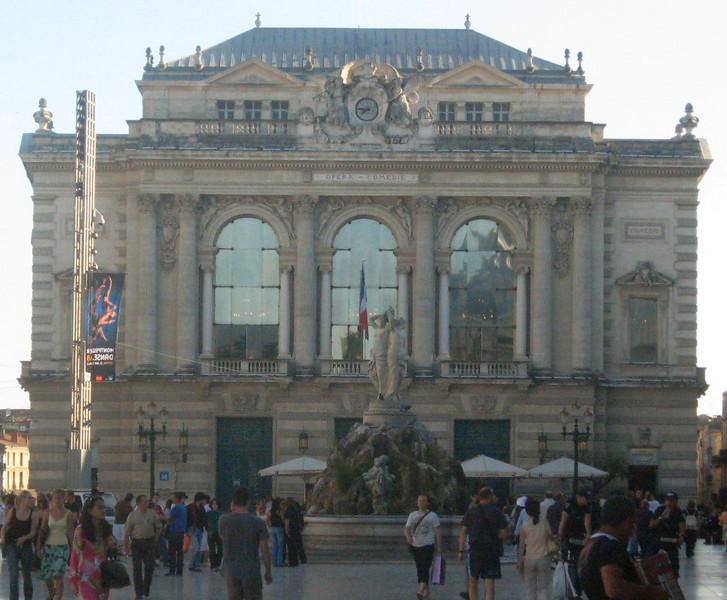 Opera Comedie--Place de la Comedie
