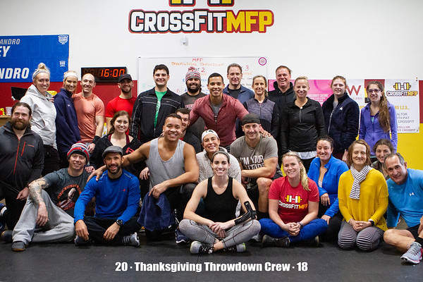 11.17.2018 Thanksgiving Throwdown MFP CrossFit
