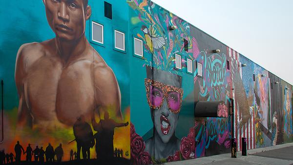 Modesto Murals & Landmarks