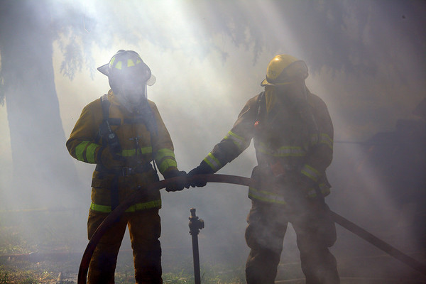 Fire Training - House Fire in Ione