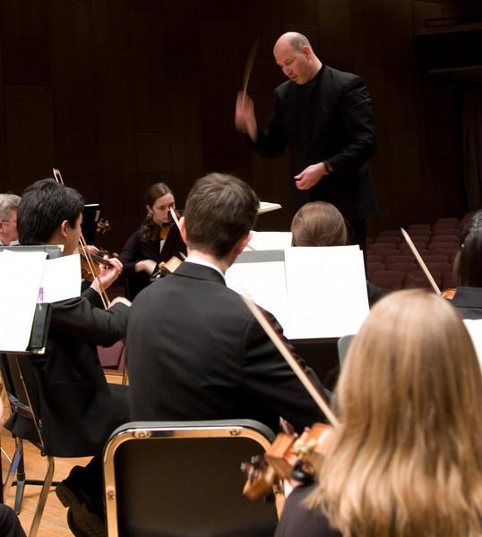 Hopkins Symphony Orchestra, March 2008
