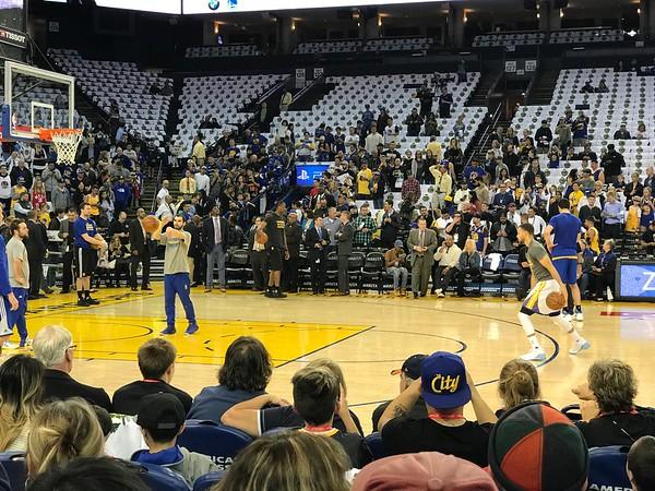 Orlando Magic at Golden State Warriors 3/16/2017