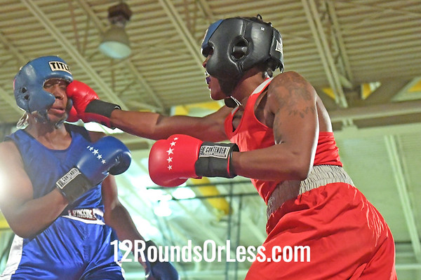 Bout 8 Terrell Ross, RG, East Cleveland -vs- Syied Campbell, BG, Columbus, 165 #