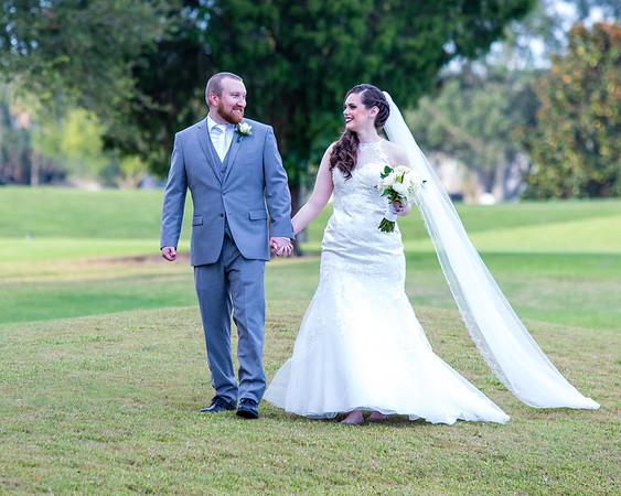 Bride and Groom & Wedding Party