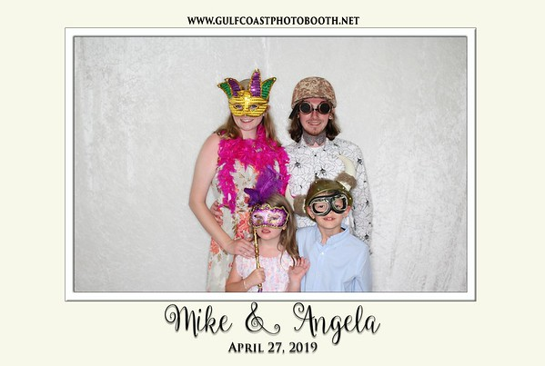 Mike & Angela Wedding Reception 2019