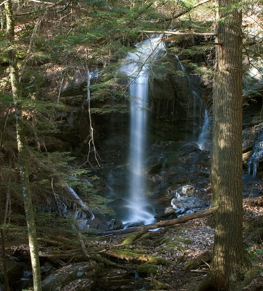 High Shoals Falls on Walton Creek, Lumpkin County