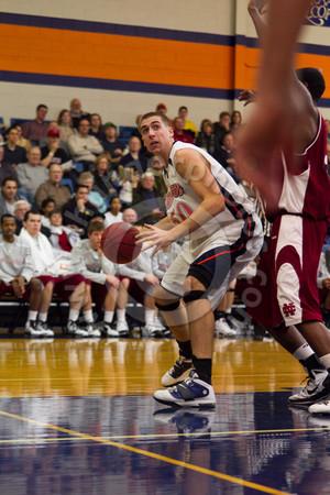 Wheaton College Men's Basketball vs North Central College, January 29, 2011