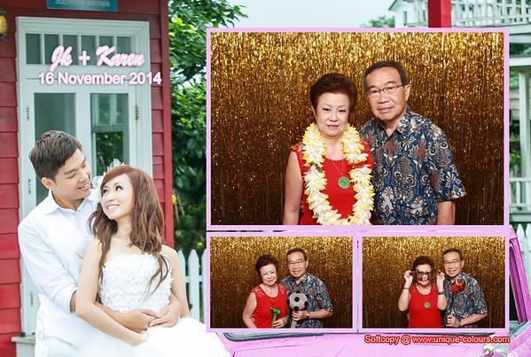 JK  + Karen Photo booth Album