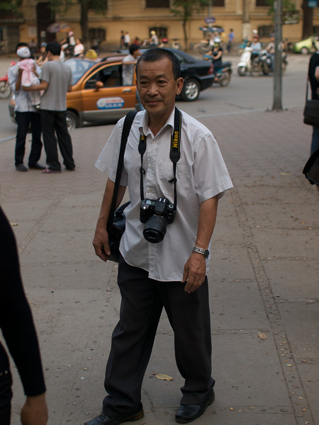 A Photographer looking for business. (Foto: Geir)