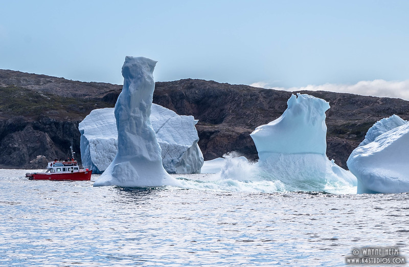 Iceberg 19   Photography by Wayne Heim