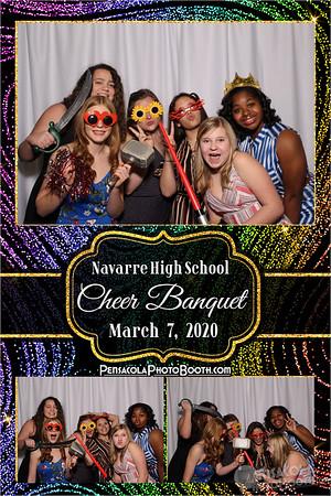 Navarre High School Cheerleading Banquet 3-7-2020