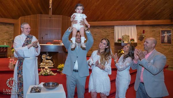 Derek Baptism