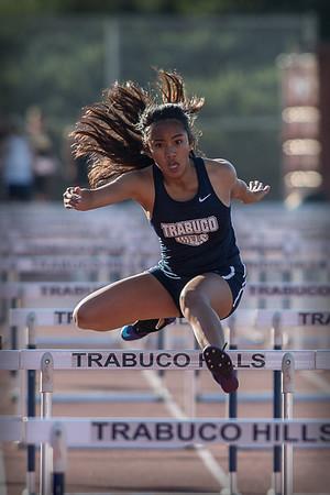 Girls Track Events vs Capo