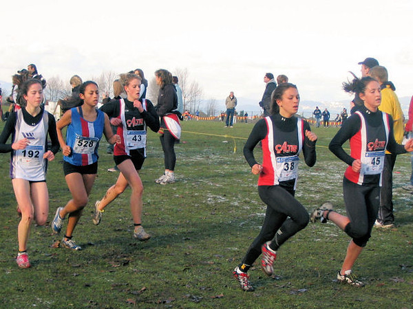 2005 Canadian XC Championships - The CalTAF runners were closely matched