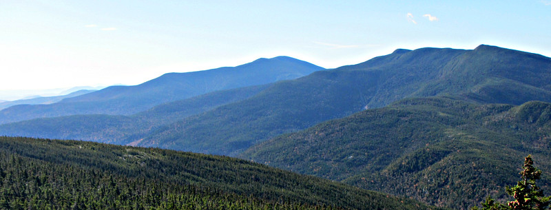 From Mt. Moriah, looking south over the Carters.
