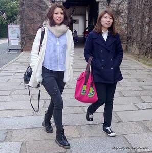 Kurashiki visit with a compact camera - March 2015