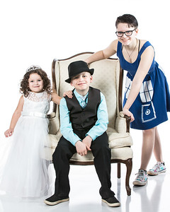 Kids Playing Dressup
