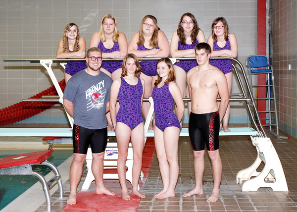 SNHS Swimming Team 2012-2013