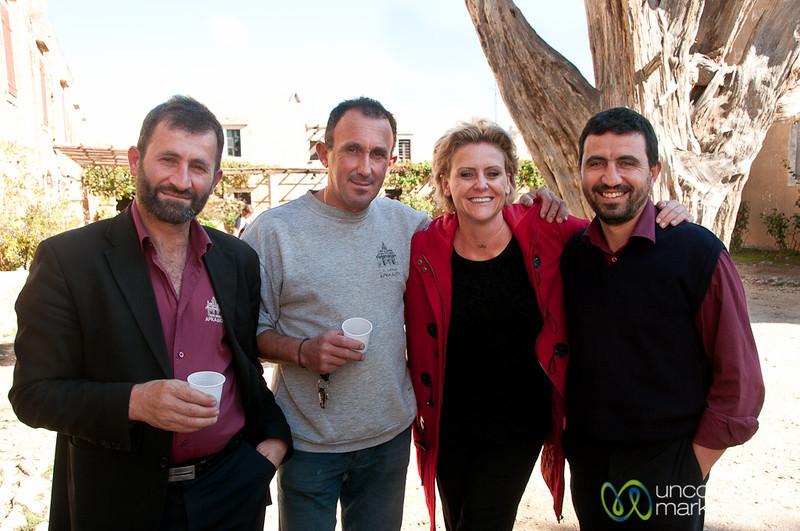 Wine and Friends at Arkadi Monestary - Crete, Greece