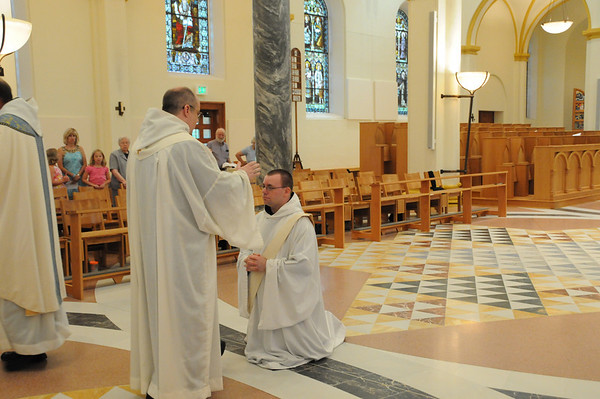 Ordination of Fr. Thomas Gricoski, OSB