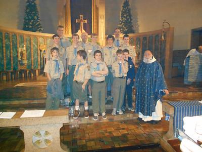 St Benedicts December 2013