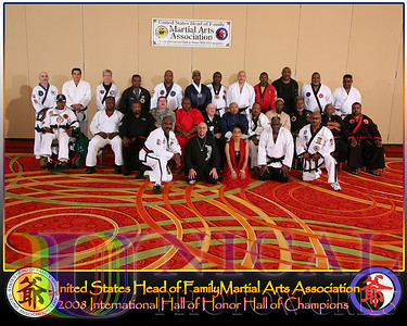 United States Head of Family Martial Arts Association, Dr. Joe Parrish, President