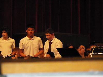 Band Bonanza Jacob 9th Grade and Sam 7th Grade