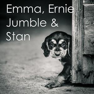 Emma,Ernie, Jumble & Stan