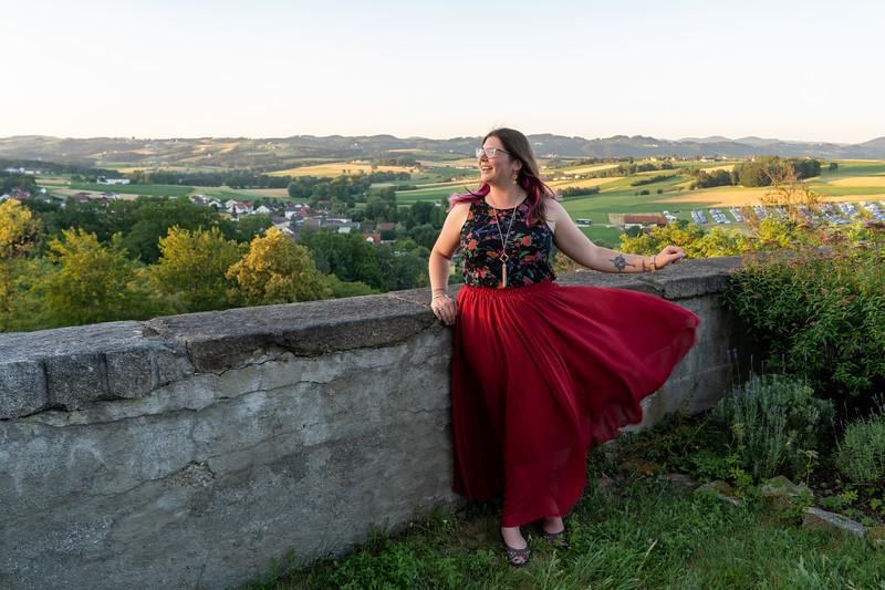 Amanda at Clam Castle