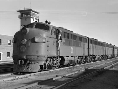 CGW—Diesel Locomotives/Trains