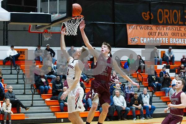 Northwest vs Eaton Rapids Districts Boys Basketball 2-25-19
