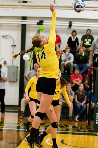 Clarkson Athletics: Women Volleyball vs. St. Lawrence. Clarkson win 3-0