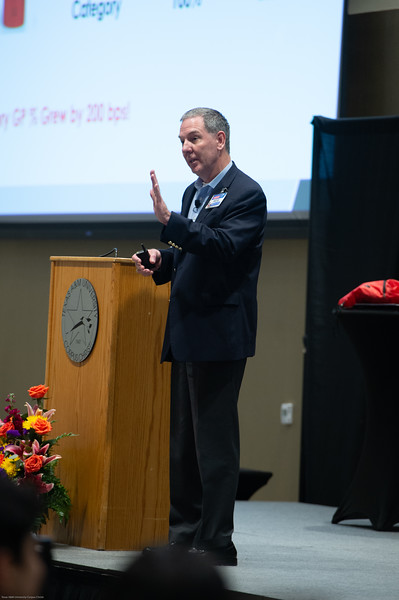 G. Russell Kirkland Distinguished Visiting Executive Lecture.  Honoring Rob Hall, H-E-B regional vice president and general manager of H-E-B's Gulf Coast Region.