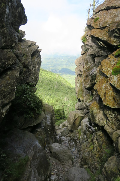 Grandfather Trail -- The Chute -- 5,850'