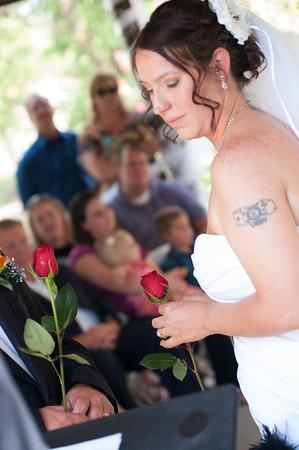 Fairall-Reiske wedding