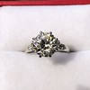 2.63ct Old European Cut Diamond Solitaire, GIA K VS2 17