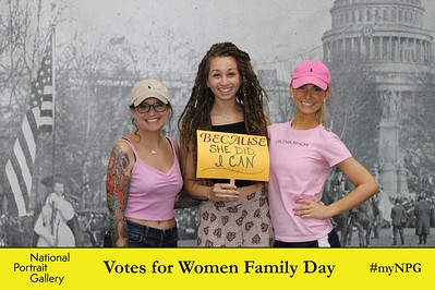 National Portrait Gallery Votes for Women Family Day