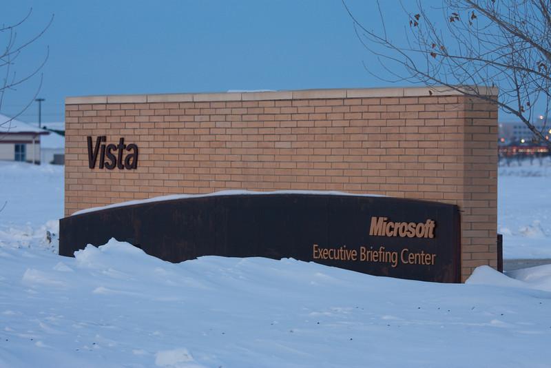 Vista, but not the OS