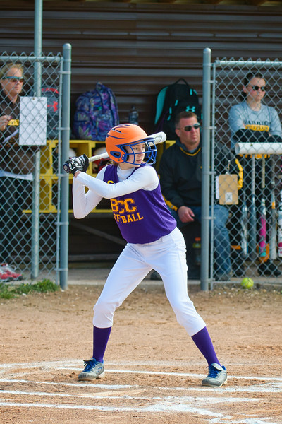 Central vs. Western Middle School Softball