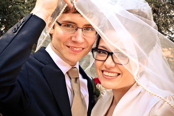 Tirienne and Jeffrey Wedding