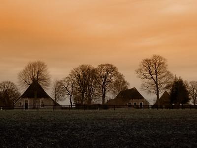 Oude Drentse boerderijen