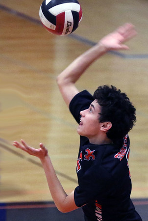 St. Charles East boys volleyball invite