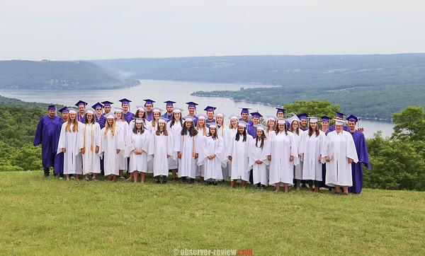 Hammondsport Graduation 6-22-18