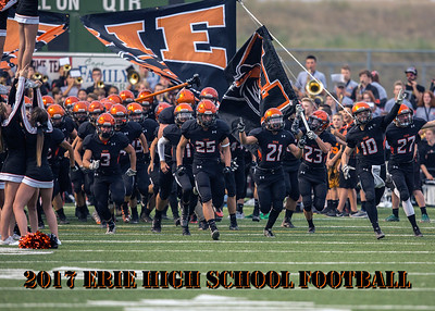 2017 Erie High School Football 5x7