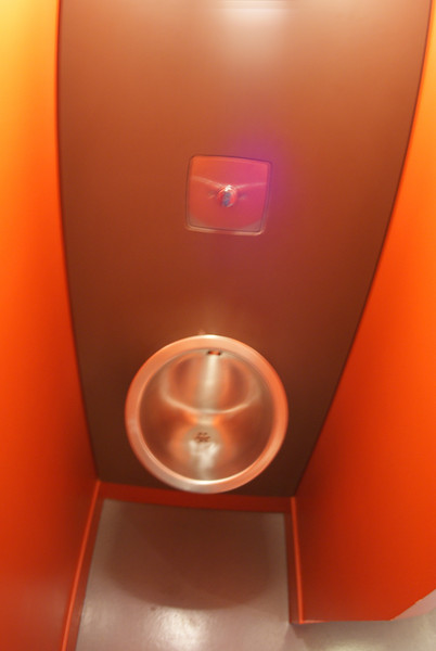 Toilet in the Eiffel Tower.