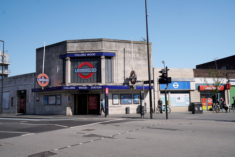 Collier's Wood Tube Station
