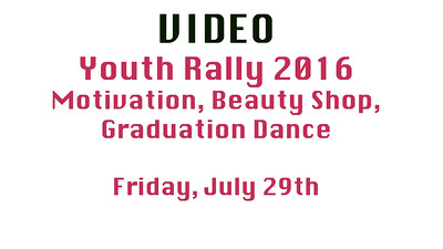 Video Friday 2016 Youth Rally