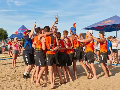 Molecaten NK Beach Handball 2017 Prijsuitreiking