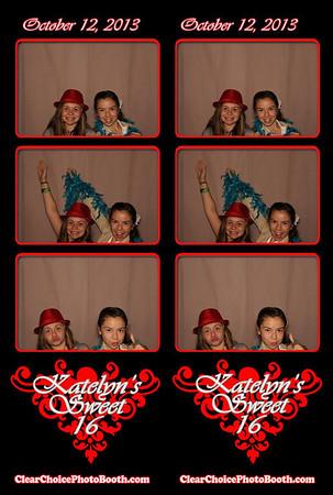 Katelyn's Sweet 16 10.12.13