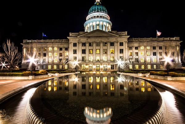 Utah State Capital - 03-09-2014